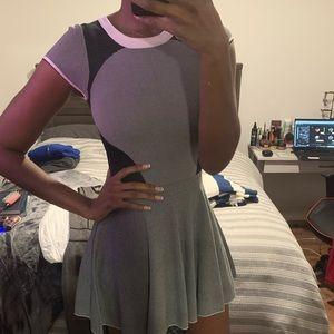 Aqua Fit Flare Dress